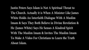 Photo of Justin Peters Declares That Islam is NOT a Spiritual Threat to the Church