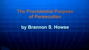 Photo of Providential Purpose of Persecution