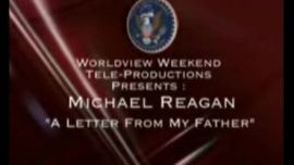 Photo of Michael Reagan Reads The Letter His Father (President Ronald Reagan) Wrote Him Before Mike and Colleen Were Married