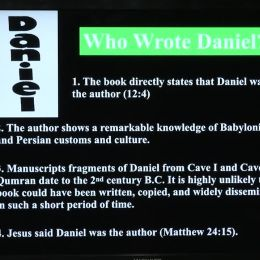 Photo of A Study of the Prophetic Book of Daniel (Lesson #1)