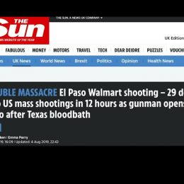 Photo of El Paso & Dayton Shootings, Chaos, Cultural Marxists & Brainwashing (Brainwashed America 19)